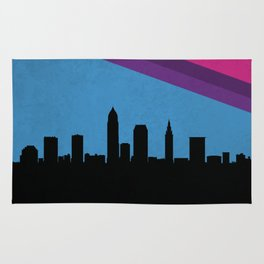 Cleveland Skyline Rug