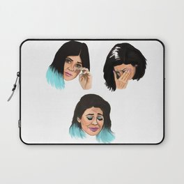 Krying Kylie Jenner Laptop Sleeve