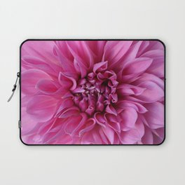Pink Whorly Flower Laptop Sleeve
