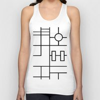 grid Tank Tops featuring PS Grid by Project M