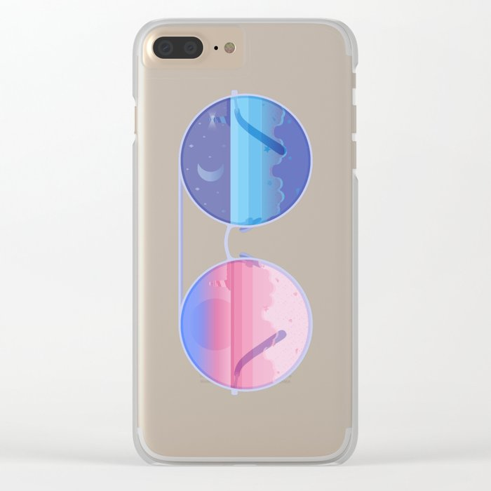 Dusk & Night Clear iPhone Case