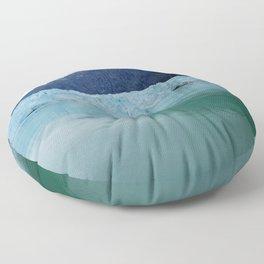 Alaska Blue Iceberg Pristine Wilderness Floor Pillow