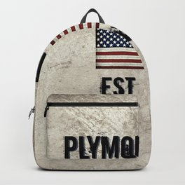Plymouth, MA.  Established 1620 Backpack