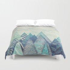 Mountain Crash Duvet Cover