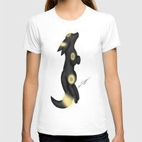 umbreon T-shirts featuring moonlit Umbreon by Agentsassy