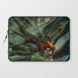 Forest Parkour  Laptop Sleeve