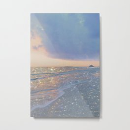 Magic ocean Metal Print