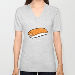 Angry Sushi Unisex V-Neck