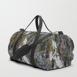 Old tree with character Duffle Bag