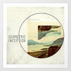 Geometric Inception  Art Print