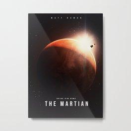 Martian Metal Print