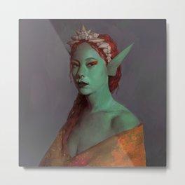 Sea princess Metal Print