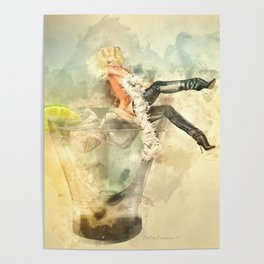 Shaken, not stirred Poster