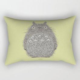 Avocado Totoro Rectangular Pillow