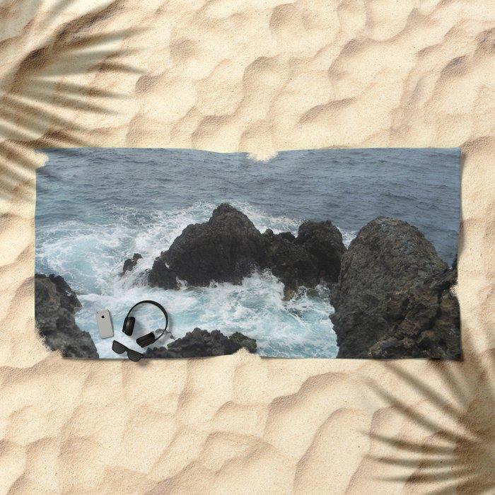 wild Tenerife Beach Towel