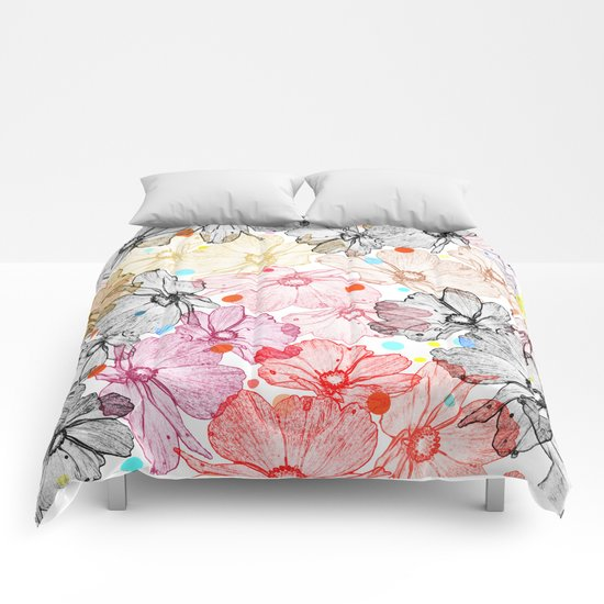 Flower carpet(22). Comforters