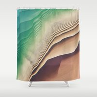dune Shower Curtains featuring Dune by Jellyfishtimes