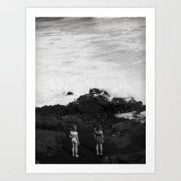 Beyond the Sea Art Print
