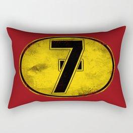 Lucky 7 Rectangular Pillow