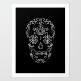 Sugar Skull Art Print