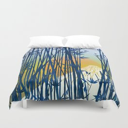 On my way to Mount Fuji Duvet Cover