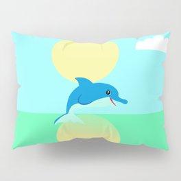 Dolphin - minimal Pillow Sham