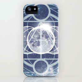 Alchemy: Lunar Phases iPhone Case
