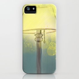 By the Lamplight iPhone Case
