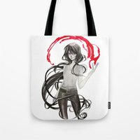marceline Tote Bags featuring Marceline by Mirlolo
