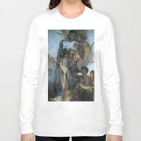 runner Long Sleeve T-shirts featuring holy runner by Rosanne van Leusden