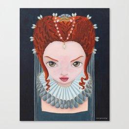 Elizabeth I Canvas Print