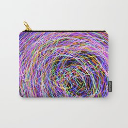 Abstract Light Painting Carry-All Pouch