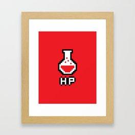 Potion - HP Framed Art Print