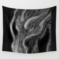 dragons Wall Tapestries featuring Dragons by DragonsTime