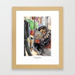 Ginza Lady Framed Art Print