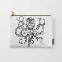 Zentanlged Octopus Carry-All Pouch
