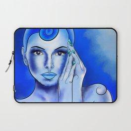 Jewellisina V1 - blue treasure Laptop Sleeve