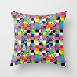 Jesus is The New Pattern 2 Throw Pillow