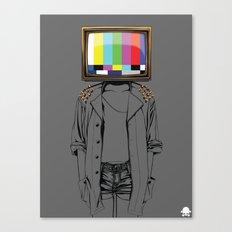24K - No Signal Canvas Print