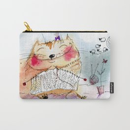 Knitting Carry-All Pouch