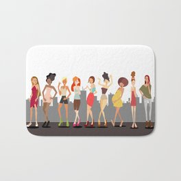 Girls girls Girls Bath Mat