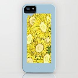 Kansas in Flowers iPhone Case