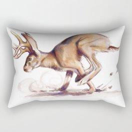 Jackalope Rectangular Pillow