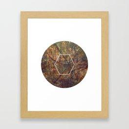Geometrie #5 Framed Art Print
