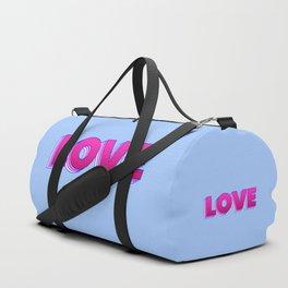 LOVE is a magic word Duffle Bag
