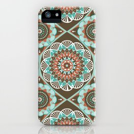 Toned Variety Pattern iPhone Case