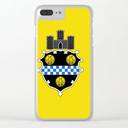 flag of pittsburg Clear iPhone Case