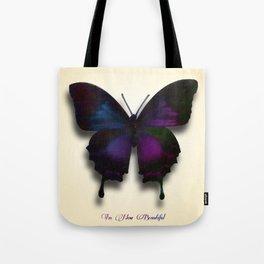 I'm Now Beautiful Tote Bag