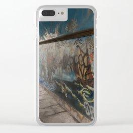 Graffiti Arch Clear iPhone Case