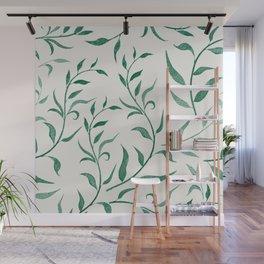 Leaves 4 Wall Mural